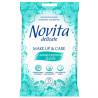 Novita, 15 шт., Салфетки для снятия макияжа Новита, Влажные, С мицеллярной водой, для ухода за кожей