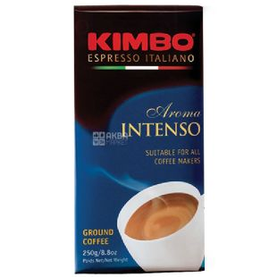 Kimbo, 250 г, Кава мелена, Aroma Intenso, м/у
