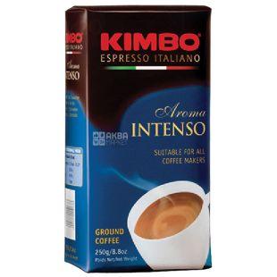 Kimbo Aroma Intenso,  250 г, Кофе Кимбо Арома Интенсо, средней обжарки, молотый
