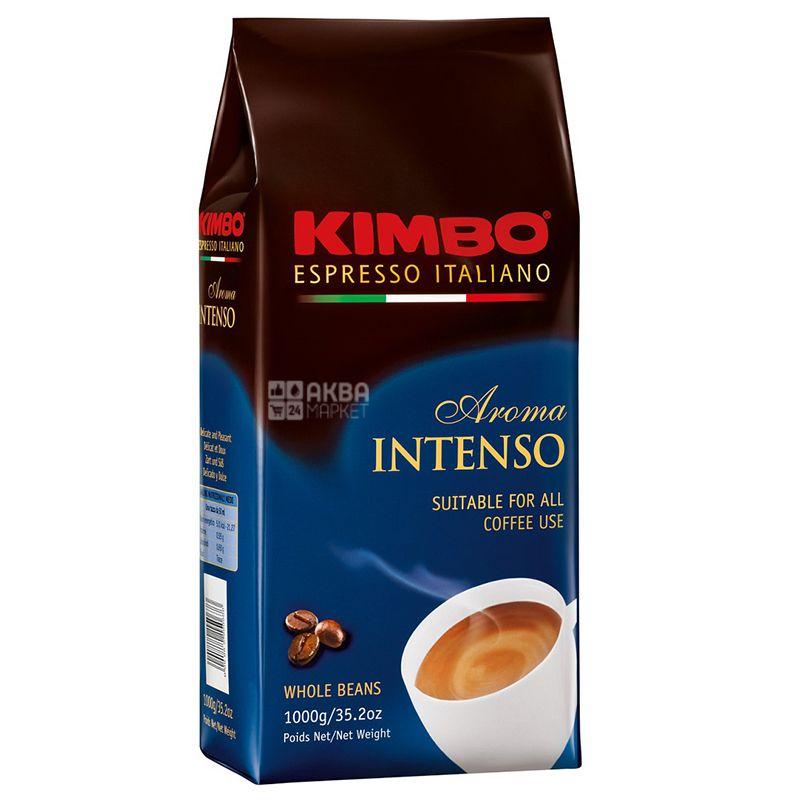 Kimbo Aroma Intenso, 1 кг, Кофе Кимбо Арома Интенсо, средней обжарки, в зернах