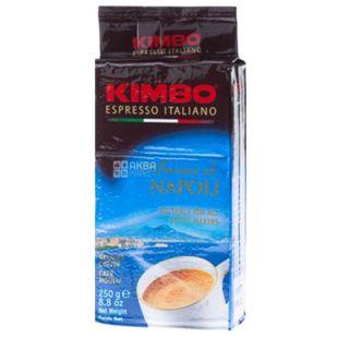 Kimbo, 250 г, Кава мелена, Aroma di Napoli, м/у