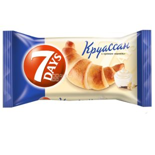 7 Days, 65 g, Croissant, Vanilla Cream