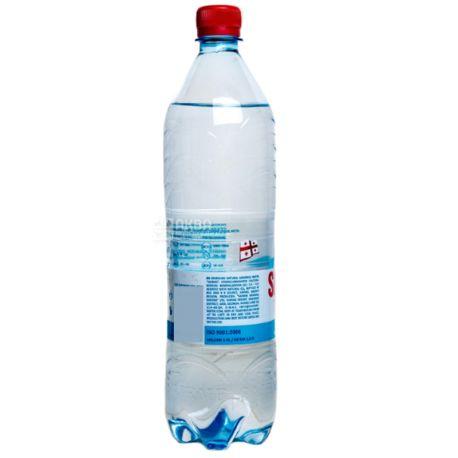 Sairme, 1 л, Саирме, Вода минеральная газированная,  ПЭТ