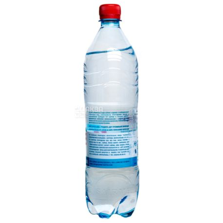 Sairme, 1 л, Саирме, Вода мінеральна газована, ПЕТ