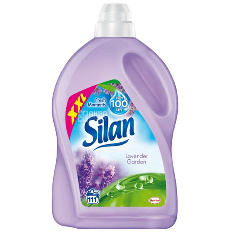 Silan, 2,775 л, Кондиционер-ополаскиватель для белья, Lavender garden, ПЭТ