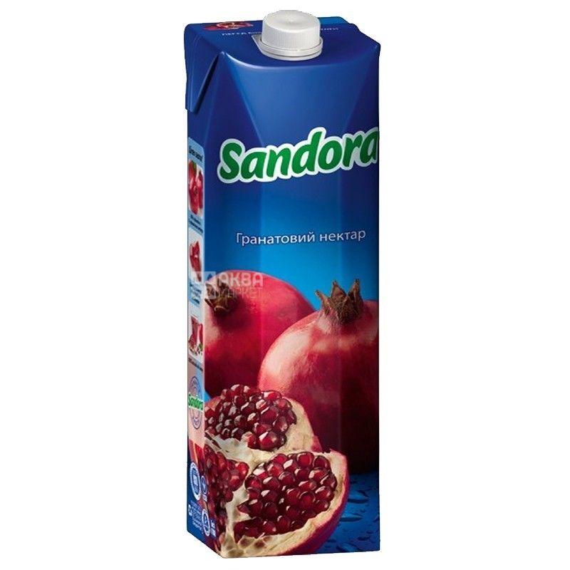 Sandora, Гранатовый, 0,95 л, Сандора, Нектар натуральный