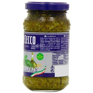 De Cecco, 200 г, Соус, Песто, Pesto Alla Genovese, скло