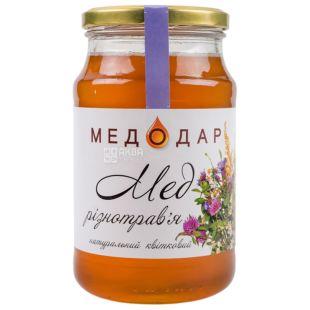 Medodar, 1150 g, Honey, Herbs, Flower, glass