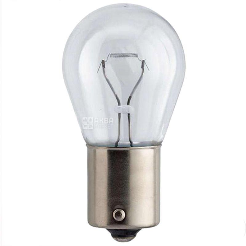 Philips, 2 шт, Лампа накаливания, P21W VisionPlus