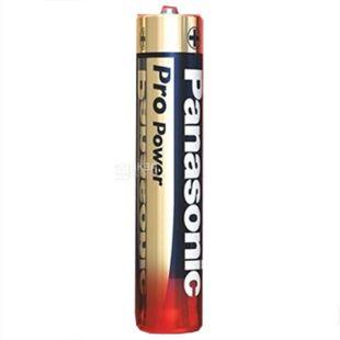 Panasonic, 4 шт., Батарейки, ААА, Pro Power, Alkaline
