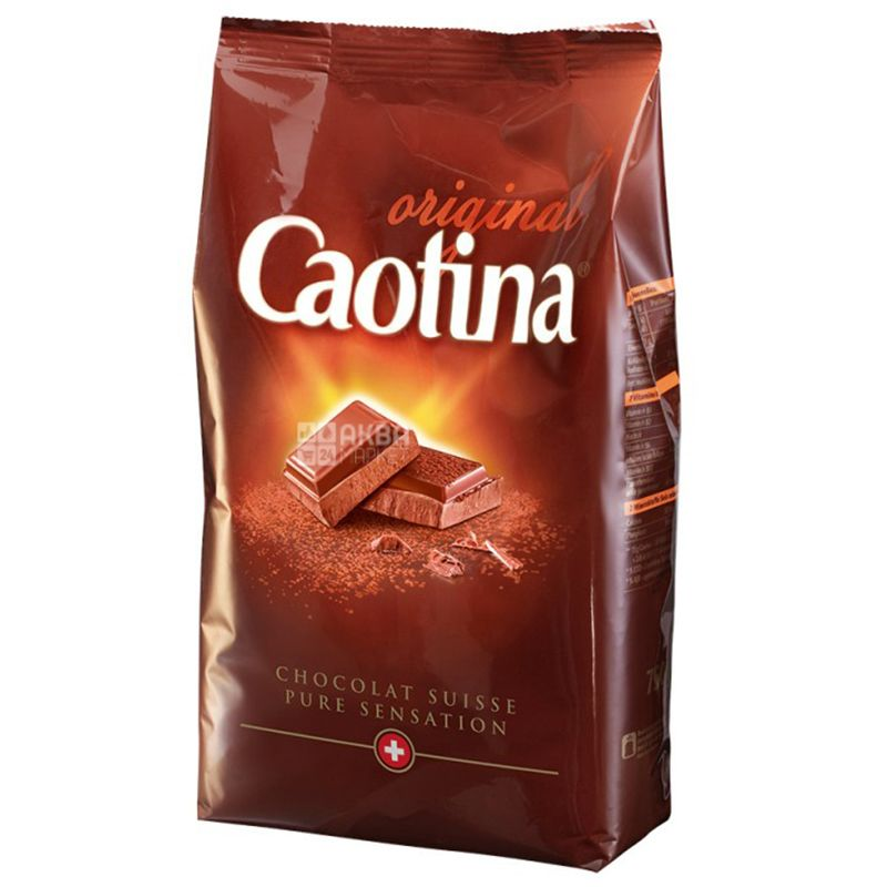 Caotina, Original,1 кг, Каотина, Ориджинал, Горячий шоколад