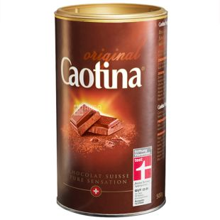 Caotina, 500 g, Hot chocolate, Original, tube