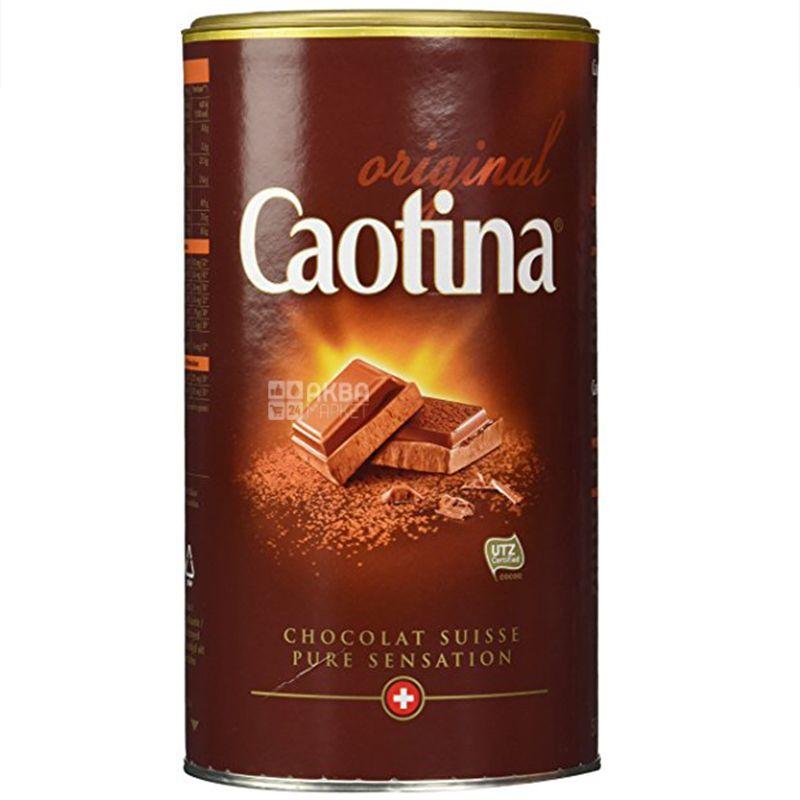 Caotina, 500 g, Hot chocolate, Original, tube