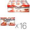 Dirol, Упаковка 16 шт. по 18 г, X-Fresh, Полунична свіжість