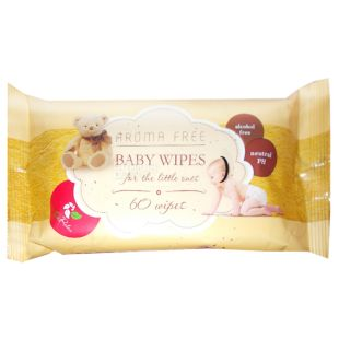 ECORelax, 60 pcs., Wipes, Baby