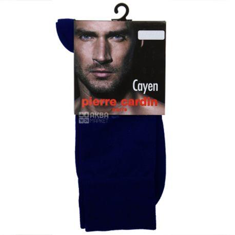 Pierre Cardin Cayen, Носки мужские cиние, размер 45-46