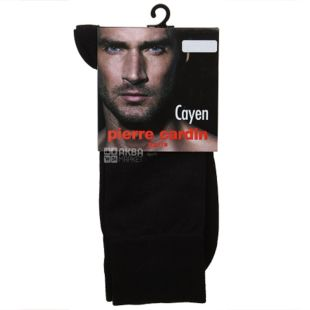 Pierre Cardin Cayen, Шкарпетки чоловічі, чорні, розмір 39-40