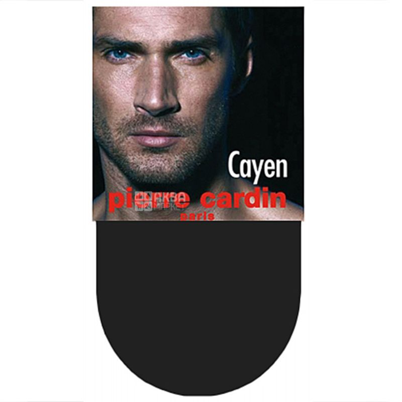 Pierre Cardin Cayen, Носки мужские, черные, размер 43-44