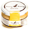 Huny Buny, 250 g, Cream Honey, Honey Lemon, Glass
