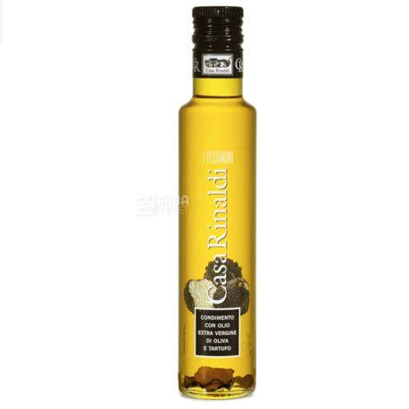 Casa Rinaldi, 250 мл, Масло оливковое, Extra vergine, С трюфелем, стекло