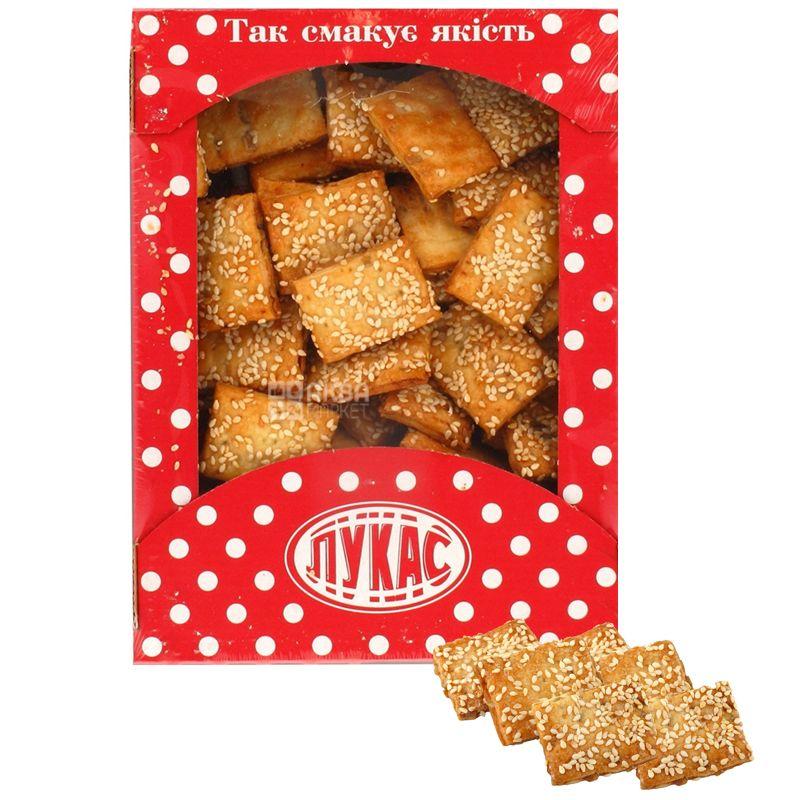 LUCAS, 500 г, Печиво, Грильяжне, Листкове, картон