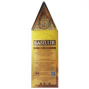 Basilur, The Island of tea Ceylon, 100 г, Чай Базілур, чорний