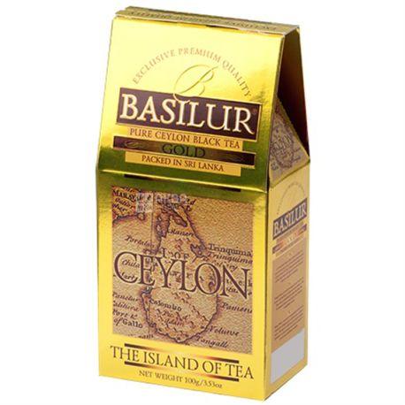 Basilur, The Island of tea Ceylon, 100 г, Чай Базилур, черный