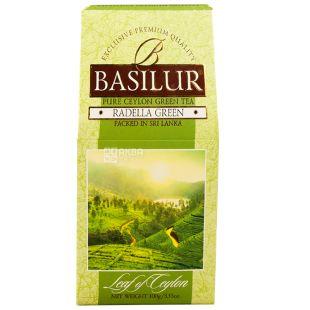 Basilur, 100 г, Чай зеленый, Radella Green