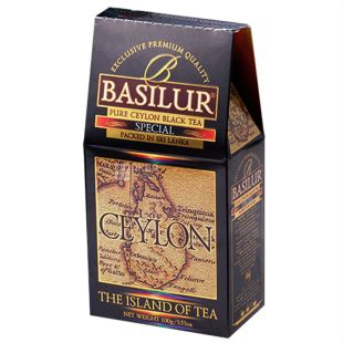 Basilur, 100 г, Чай черный, Special