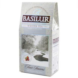 Basilur, 100 г, Чай черный, Four seasons, Winter tea
