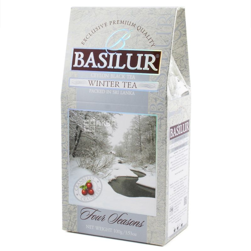 Basilur, 100 g, Black tea, Four seasons, Winter tea