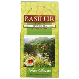 Basilur, 100 g, Green Tea, Four seasons, Summer tea
