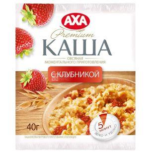 AXA, 40 g, Instant porridge, Oatmeal, Strawberry