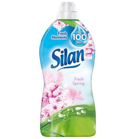 Silan, 1,850 л, Кондиціонер-ополіскувач для білизни, Fresh Spring, ПЕТ