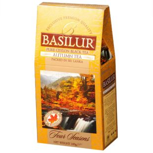 Basilur, 100 g, Black tea, Four seasons, Autumn tea