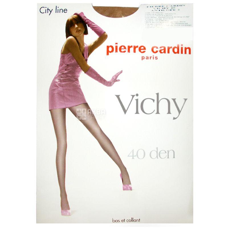 Pierre Cardin Vichy, Колготки бежеві, розмір 2, 40 ден