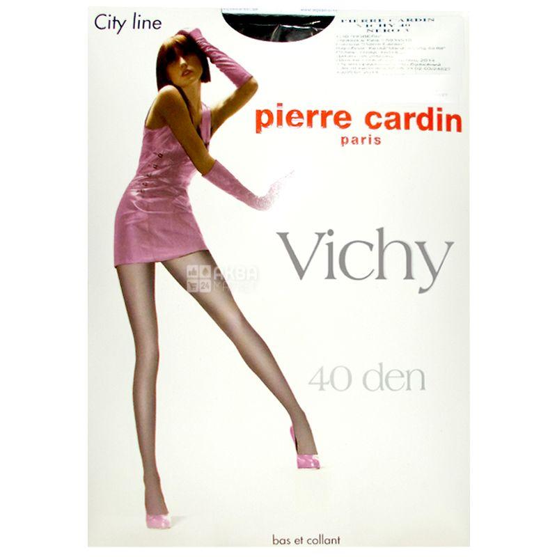 Pierre Cardin Vichy, Колготки черные, размер 3, 40 ден