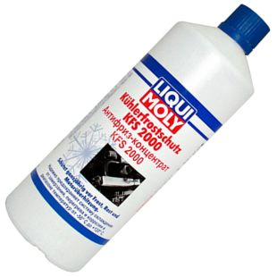 LIQUI MOLY, 1 l, -80, Antifreeze, Kohlerfrostschutz, PET