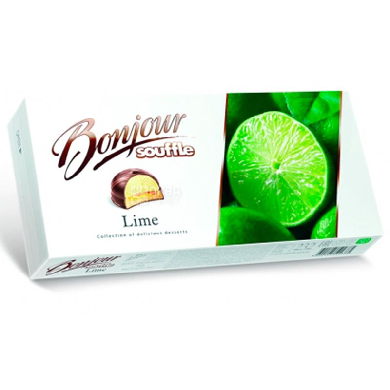 Bonjour, 232 г, Десерт, Lime