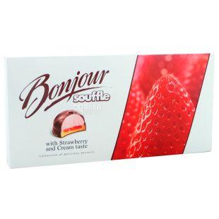 Bonjour, 232 g, Dessert, Strawberry cream