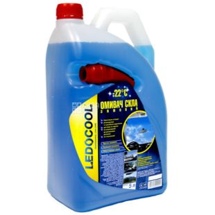 Ledocool, 5 l, -22, Washer for glass, canister, PET