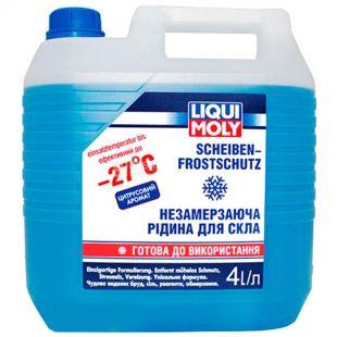 LIQUI MOLY, 4 л, -27, Омыватель для стекла, Scheiben Frostschutz, канистра, ПЭТ