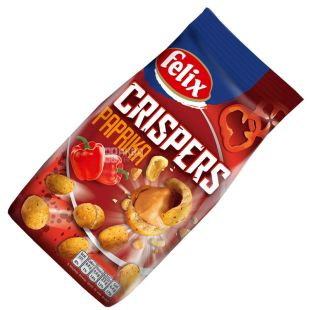 Felix Crispers Roasted peanuts with paprika flavor, 140 g