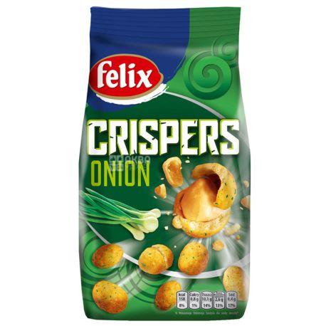 Felix Crispers Арахис жареный со вкусом лука, 140 г