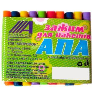 Alprophone, 10 шт., Зажими для пакетів, АПА