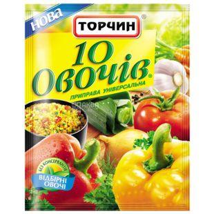 Торчин, 60 г, Приправа, 10 овочів