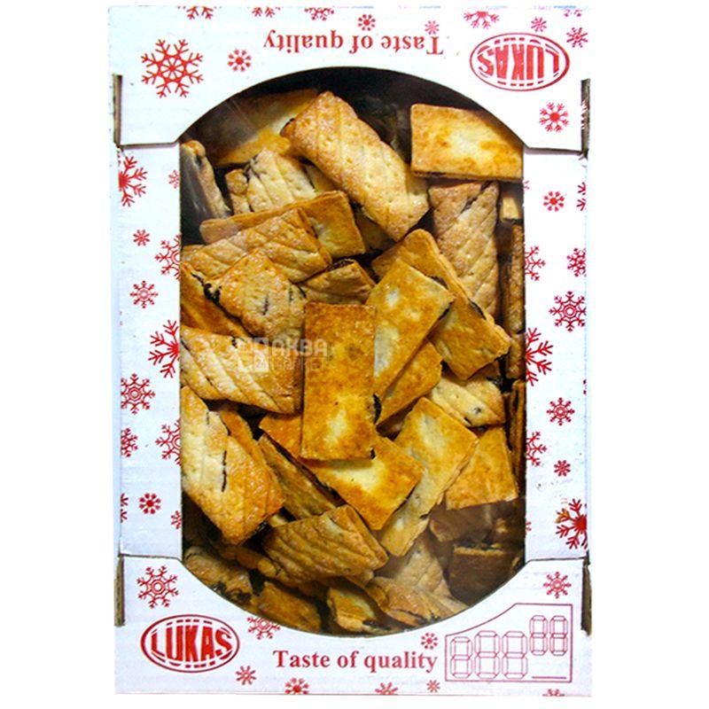 LUCAS, 1,2 кг, Печенье, Марцелик, Слоеное, картон