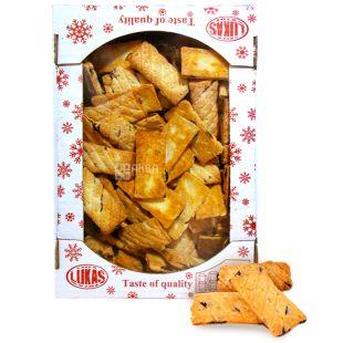 LUCAS, 1,2 kg, Cookies, Marcelik, Puff, cardboard