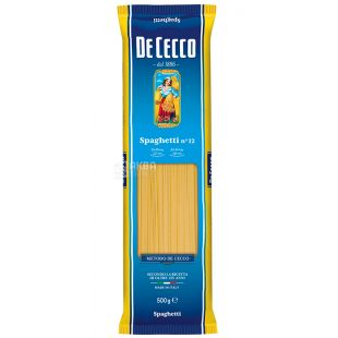 De Cессо, 500 г, Макароны, Spaghetti № 12