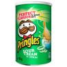 Pringles, 70 г, Чипсы картофельные, Sour cream & onion, тубус